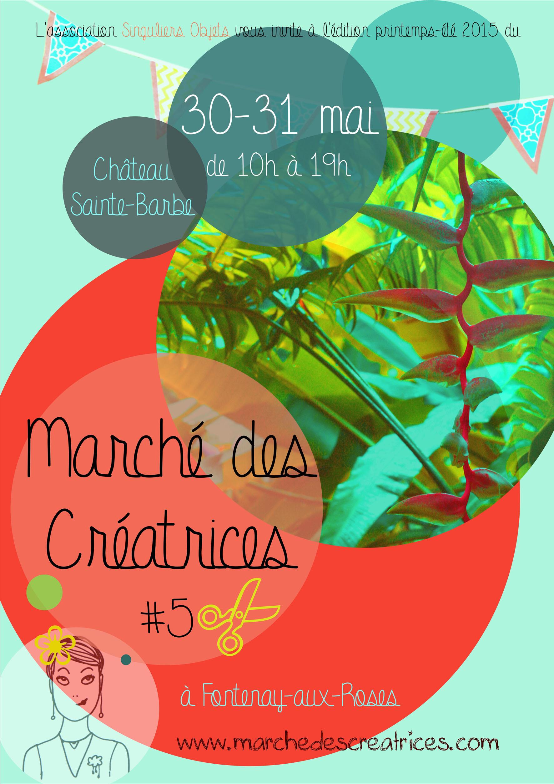 Affiche Marché des Créatrices #5