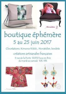 boutique éphémère Sucy juin 2017-01